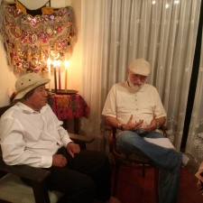 Maya Elders Carlos Barrios and Mariano Xutumul