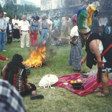 Congress indigenous people of amercia - zaculeu, huehuetenango 1