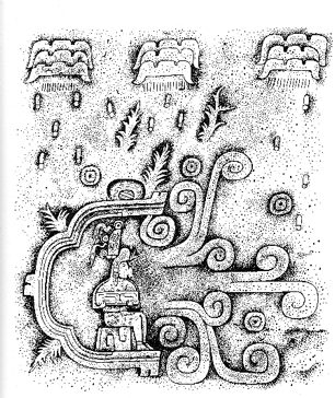 Water cycle in the Olmec culture, Mesoamerica, 800 B.C.E.